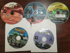 PS2 lot of 5 Games Juiced Gran Turismo 3 Test Drive, Monster 4x4, Need for Speed