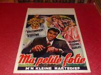 Cinema Plakat Eo Belgischer - Ma Petite Folie J.Bretonnière G.Kervine M. Labro