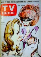 TV Guide 1966 Bewitched Elizabeth Montgomery Moorehead Tabatha Searle EX/NM COA
