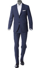 PRADA Suit  Size 42 R blue Glen Plaid   NEW  100% Wool  MADE IN ITALY