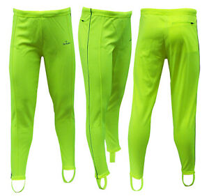 ACCLAIM Sydney Mens Cycling Keep Fit Non Padded Stirrup Trackster Leggings