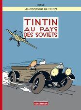 Hergé – Tintin au Pays des Soviets – Couleurs - Moulinsart / Casterman