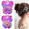 12PCS Glitter BB Clips Hair Clip Hairpin Kids Baby Girls Star Butterfly Barrette