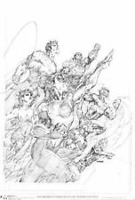 Justice League Unwrapped by Jim Lee by Jim Lee (2017, Hardcover)
