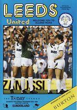 86/87 Leeds United v Sunderland League Division 2