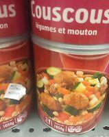 Lot Revendeur Destockage De 4 Grandes Boites De Couscous Supérieur Extra