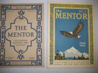 Yellowstone, Eagles & Condors, Olympic Peninsula-The Mentor magazine 1915 & 1925