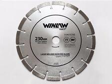 230MM diamante taglio disco smerigliatrice angolare della lama Pietra Muratura in cemento