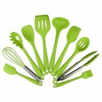 10 pezzi di utensili da cucina in silicone resistente da cucina Utensili da U1X2