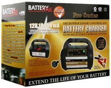 Smart Battery Charger 12v 10 Amp Multi Stage Charge & Maintain WET, MF,AGM GEL