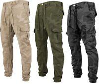 Urban Classics Camouflage Herren Cargo Hose Röhrenhose Sweatpant Jogginghose