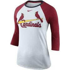 St. Louis Cardinals Women's Nike Tri-Blend Raglan Tee - NWT! FREE SHIPPING!