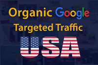 Send google USA traffic Web with SEO keywords
