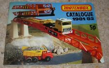Vintage 1981 MATCHBOX Catalogue