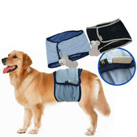 Pet Dog Belly Band Diaper Sanitary Physiological Pants Underwear Diaper Washable