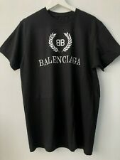 Black BB print Balenciaga t-shirt Without Labels and Tags Slim Fit