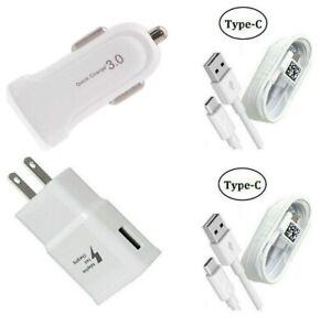 Fast Wall Car Adapter USB-C For Google Pixel 5/5 XL/4/4 XL/3/3 XL/2/2 XL/XL