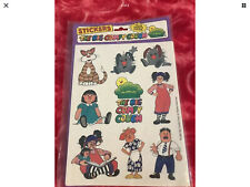 The Big Comfy Couch vintage 1996 stickers New