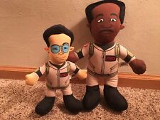 (2) Ghostbuster Stuffed Dolls Spengler & Zeddemore 2011