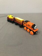 Thomas & Friends Wooden Train BILLY WITH CONSTRUCTION CARS