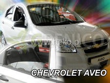 Saute vent CHEVROLET AVEO 4-porte 2011-2015 4-tlg Berline HEKO Foncé