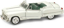 1:18 Yatming Yat Ming White 1949 Cadillac Coupe DeVille Item 92308