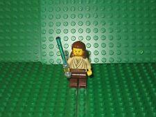 Lego Star Wars QUI-GON JINN minifigure With Lightsaber minifig Jedi
