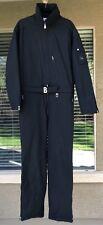 Vintage Bogner Ski Suit Jacket Pants 2 In 1  Flightsuit Black Men's Size 44 L