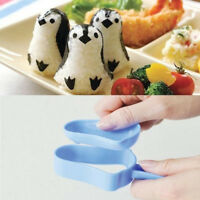 DIY Tool Maker Kitchen Sandwich Penguin Mold Bento Rice Ball Sushi Mould