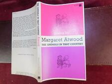 MARGARET ATWOOD: THE ANIMALS IN THAT COUNTRY/RARE 1968 FIRST EDITION
