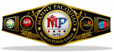 Framed Print - Manny Pacquiao World Poker Event Championship Belt (Picture MMA)