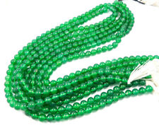 AAA Quality 100% Natural Gemstone Green Onyx  6 mm Round Beads 13 Inch 1 Strand