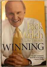 """Jack Welch """"Winning"""" First Ed. Autographed. Brand New"""