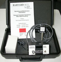 Isometric Force Transducer Amplifier Adapter Case FULL SET Harvard Apparatus NEW