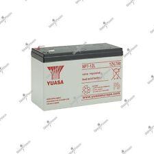 Batterie solaire plomb étanche YUASA NP7-12L 12V 7AH 151X65X97.5