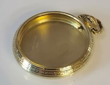 Railroad pocket watch Case Only Vintage 16s Illinois Bunn Special