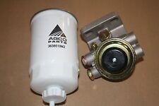 Bosch Type Diesel Primer Head (screw on) & Genuine Massey Ferguson Fuel Filter