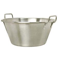 Portable 32'' Cazo EXTRA LARGE FLat Cooking Pot Pan Wok Caso Carnitas XXL Stove