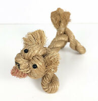 Vintage Danish Rope Puppy Dog Toy Kay Bojesen Jorgen Bloch Mid Century Modern