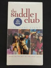 The Saddle Club The Mane Event VHS brand new sealed