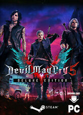 Devil May Cry 5 Deluxe Edition - PC Steam Game Key [Action Spiel Code] [DE/EU]