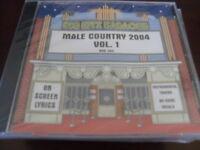BIG HITZ KARAOKE BHK-304 MALE COUNTRY 2004 VOL 1 CD+G SEALED
