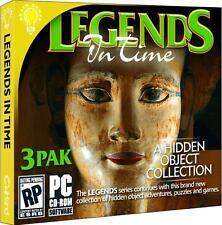 Legends In Time 3 Pak PC Games Windows 10 8 7 XP hidden object seek and find