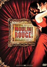 Moulin Rouge (Dvd, 2006, Single Disc Version Widescreen)
