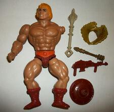 He-Man MOTU 80s Vintage Action Figure Mattel PARTS Weapons Lot Repair Custom