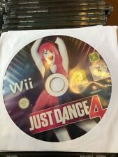 Wii Just Dance 4 Promo Game (Full Promotional Game) Ubisoft Sealed PAL