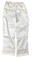 Shadowline Charmeuse Sleep Pants -4500 Ivory 1X-Large
