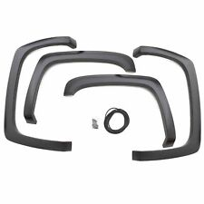 Lund Elite Black Sport Style Smooth 4Piece Fender Flare for 16-19 Toyota Tacoma