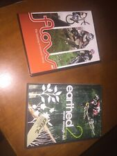 """""""Earthed 2 Never Enough Dirt"""" & """"Flow - The Meaning Of Mountain Biking"""" 2 DVDs"""