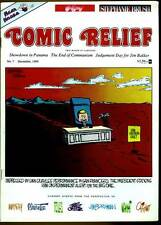1989-'90 COMIC RELIEF No.7-12 Editorial Cartoons TRUMP Soviet Union THE FAR SIDE